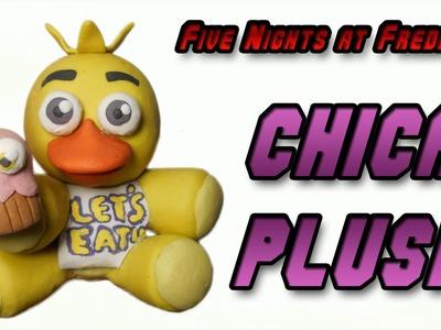 FNaF | Chica Plush Clay Tutorial | Plastilina