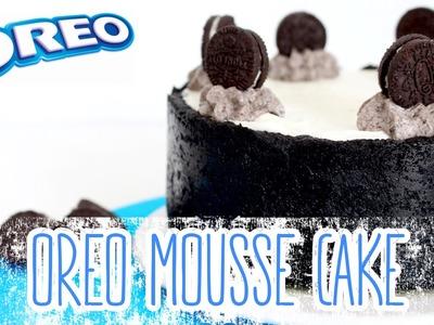 Oreo mousse cake -- Tarta de galletas Oreo