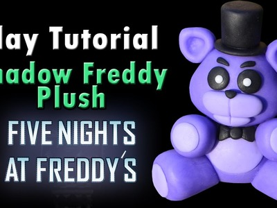 Shadow Freddy Plush Tutorial - Clay. Plasticina. Porcelana fria