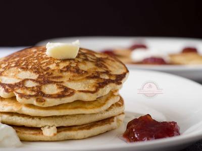 Tortitas Americanas o Pancakes - Tortitas Esponjosas