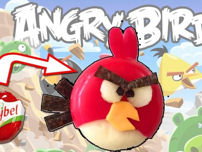 ANGRY BIRD con queso Mini Babybel * Recetas infantiles