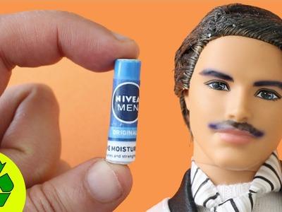 Cómo hacer crema de afeitar para tus muñecos - Manualidades para muñecas