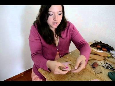 Como hacer Sandalias en casa