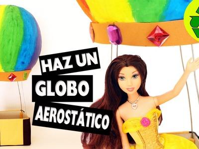 Cómo hacer un globo aerostático para muñecas - Manualidades para muñecas