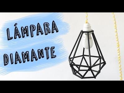 Cómo hacer una Lámpara Casera de Diseño