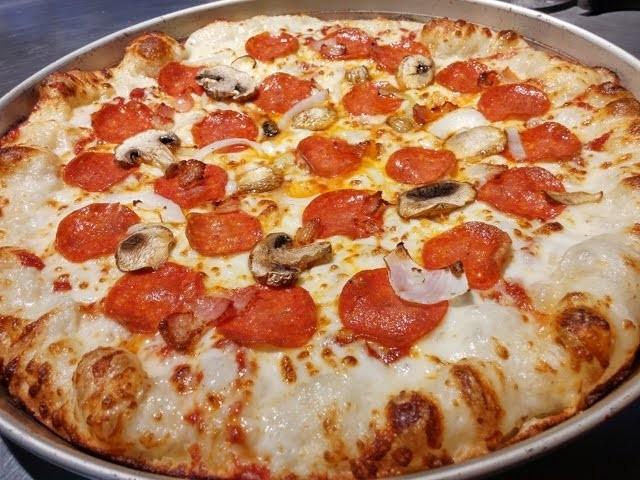 Cómo preparar Pizza de Sartén en Domino´s Pizza