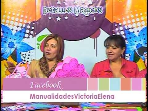 Detalles Magicos con MimiLuna Invitada Xiomara Cruz . Foamy proyecto de Buho