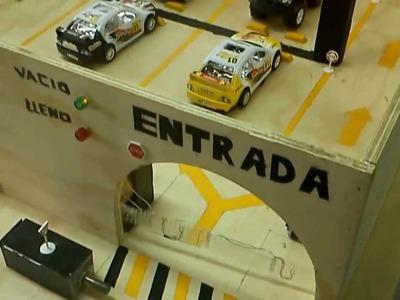 Estacionamiento automatizado con PLC
