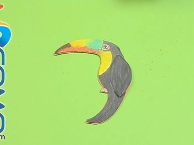 Hacer un pájaro de papel (El Tucán Volador)