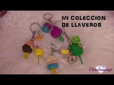 Mi Colección de Llaveros de Fimo