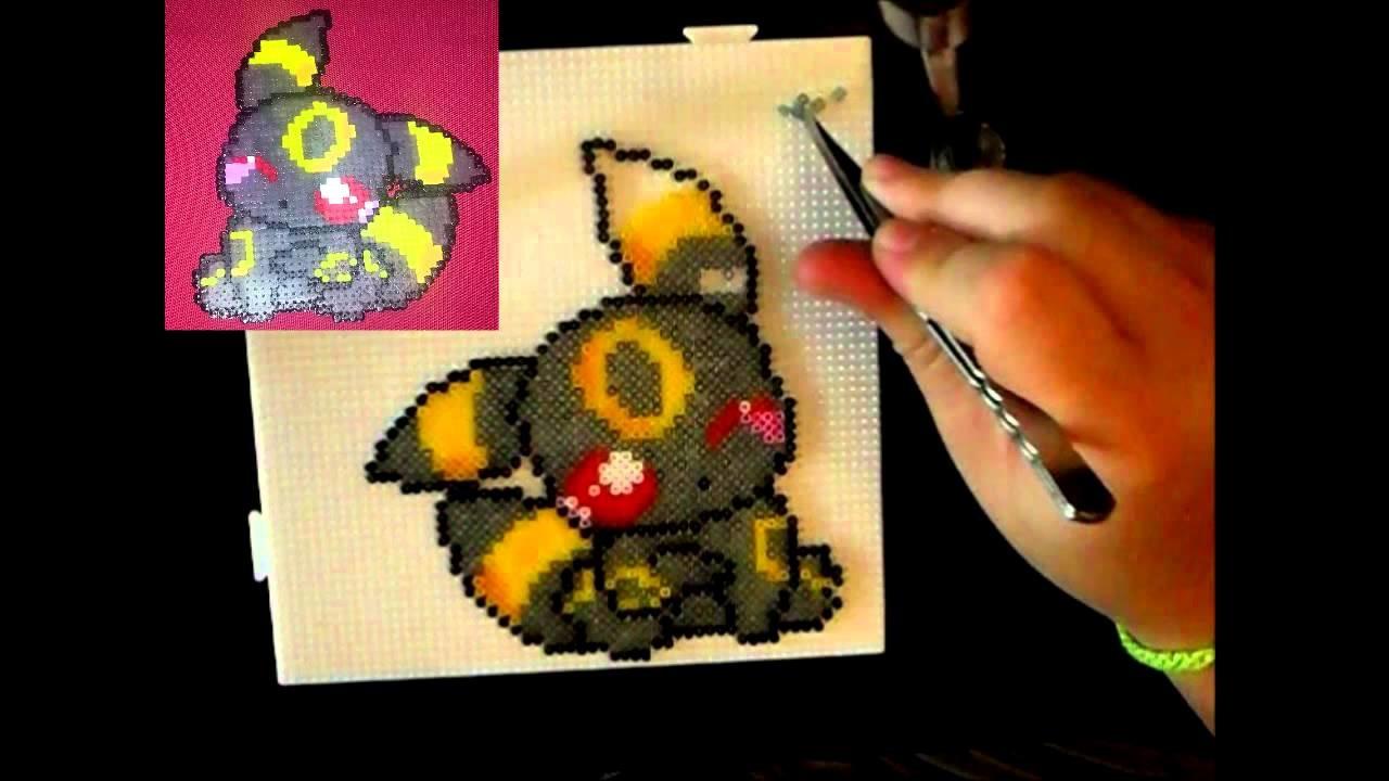 Umbreon Perler Pokemon cute Umbreon h...