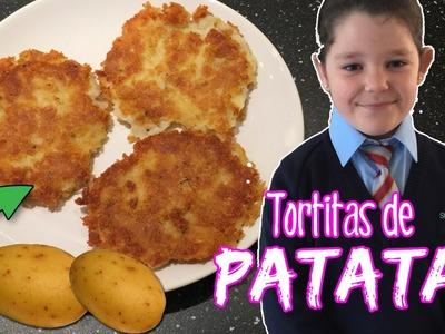 Tortitas o RÖSTI de PATATA *  COCINA para niños MINICHEFS