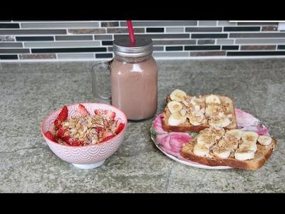 3 Desayunos Facil, Deliciosos y Nutritivos