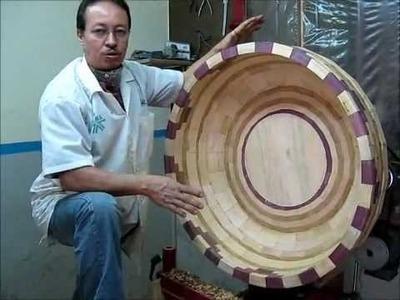 """Arte en Torno - """"Como tornear de forma segura piezas de gran tamaño"""" Parte 1.4"""