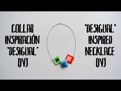 Collar inspiración Desigual (4) - Desigual inspired necklace (4)
