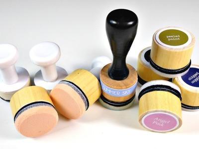 Cómo hacer aplicadores CASEROS para tintas Distress FÁCIL | Mundo@Party