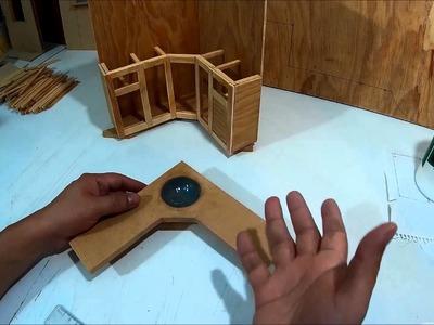 Como hacer un mueble tocador de baño para muñecas. Parte 2