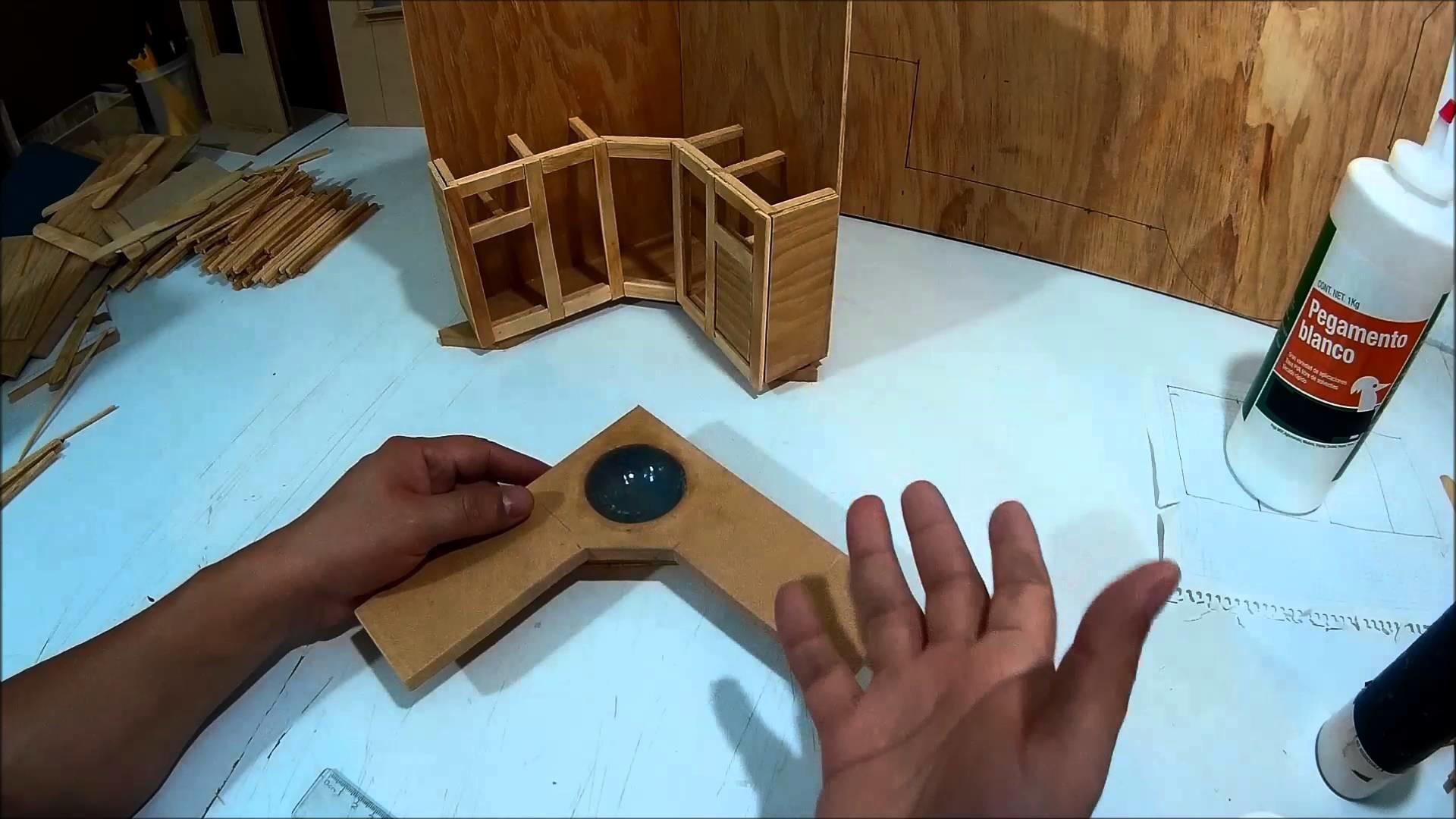 Como hacer un mueble tocador de ba o para mu ecas parte 2 - Hacer mueble de bano ...