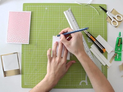 Cómo hacer una tarjeta Shaker - San Valentín - TUTORIAL Scrapbook