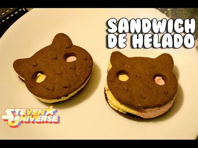 Cookie Cat. Gato Galleta de Steven Universe! | Sandwich de helado