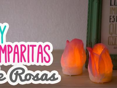 Decora tu cuarto con Luces♥! | Lampara de Rosas| Ideas para tu habitación Mini Tip# 86