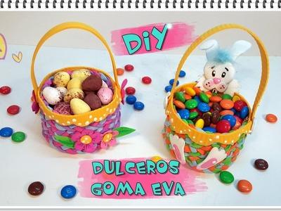 DULCEROS DE GOMA EVA O FOMY