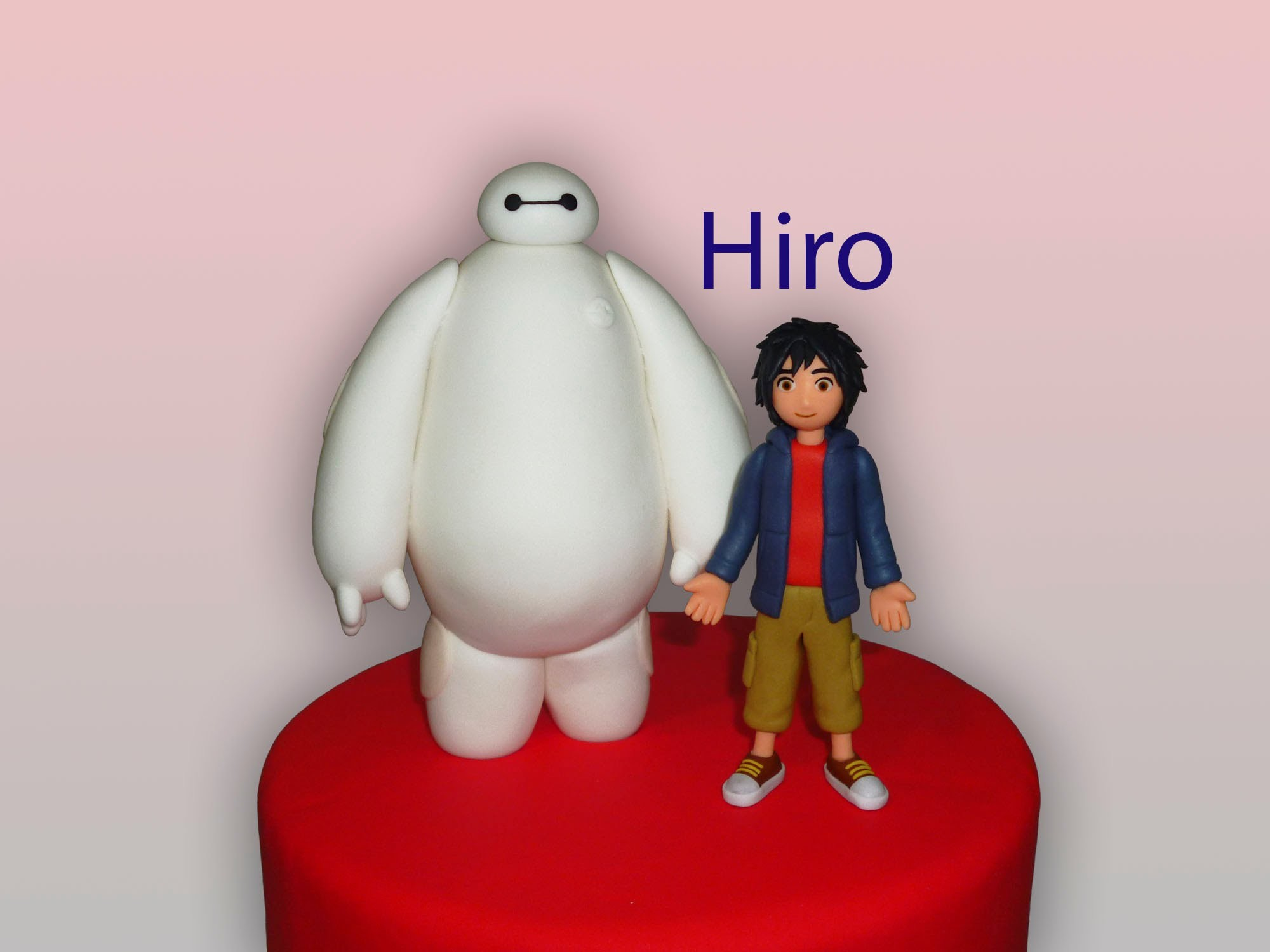 How to make Baymax and Hiro From Big Hero 6 (part 2.2) (Cómo hacer a Baymax y Hiro parte 2)