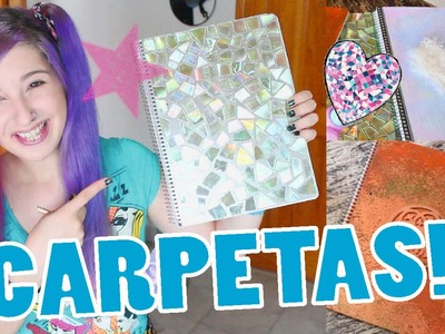 ¡DECORA TU CARPETA.CUADERNO! ✩ tres ideas - Ann Look