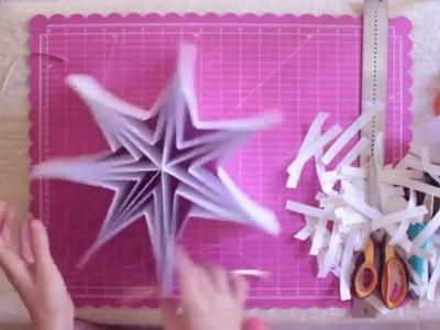 Mini Álbum Estrella - Scrapbooking Tutorial