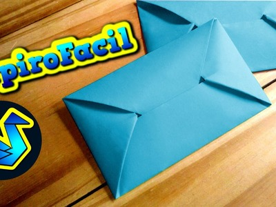 Origami facil || Como hacer un sobre para cartas