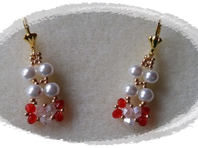 PENDIENTES PERLAS Y RONDELLES-PEARLS AND RONDELS EARRINGS
