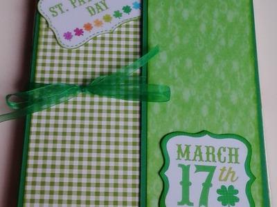 Photo folio Saint Patrick's Day- Scrapbooking