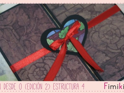 Scrapbooking: Álbum desde 0 - Estructura 4 ( Subtitulado)