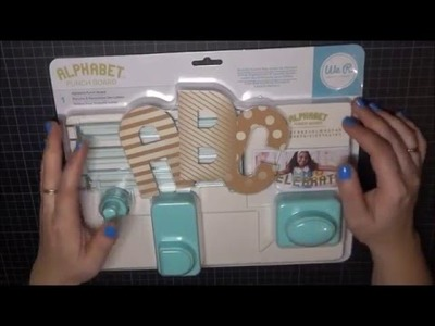UNBOXING. Probamos la Alphabet Punch Board de We R Memory keepers