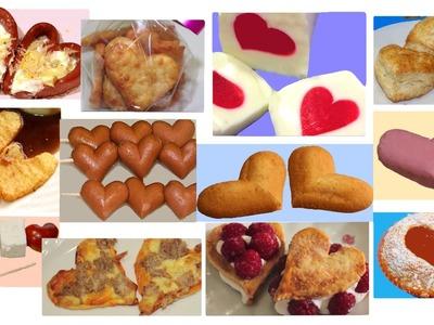 5 Trucos para hacer corazones comestibles de IDEAS FACILES