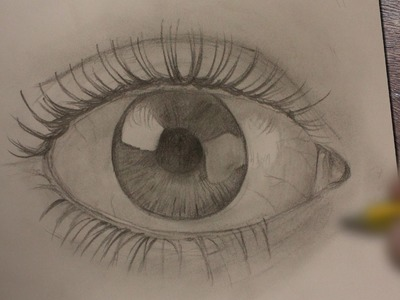 COMO DIBUJAR OJOS REALISTAS A LAPIZ PASO A PASO - Dibujos faciles - How to draw eyes