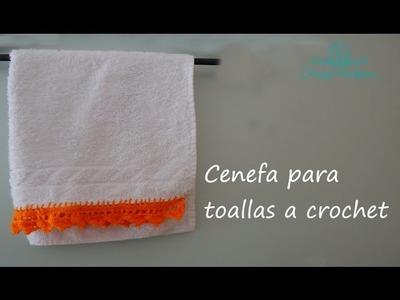 DIY- Como Decorar tus Toallas de mano- Cenefa para toallas a corchet