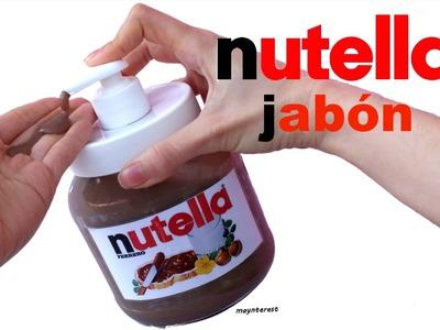 DIY JABÓN de NUTELLA - Día de la madre