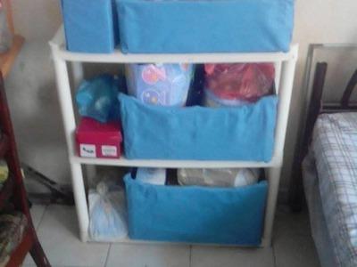 DIY-ORGANIZADOR acomoda la ropa de tu bebe.preparate para su llegada