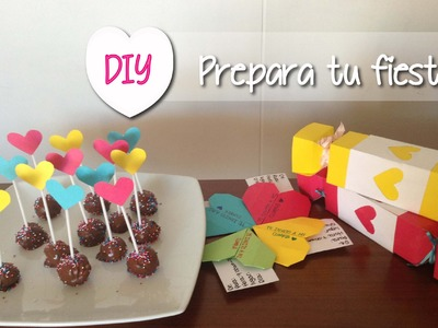 DIY Prepara una fiesta perfecta!