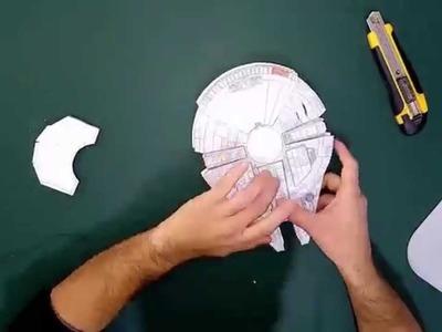 Millennium Falcon Timelapse StarWars