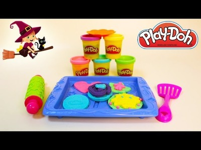 Play-doh Galletas de Plastilina Cookies de Play doh en español