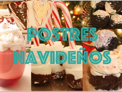 Postres para Navidad. Cute Holiday treats