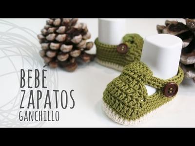 Tutorial Zapatos Bebé Ganchillo | Crochet