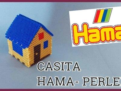 CASA HAMA PERLER 3D - HOUSE PERLER 3D