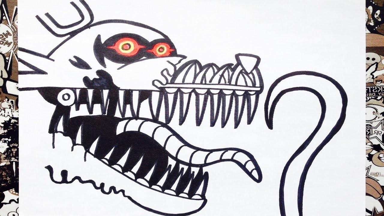 Como Dibujar A Nightmare Foxy De Five Nights At Freddys How To Draw