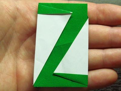 Como hacer MANUALIDADES con papel SUPER COOL | ALFABETO DE PAPEL Letra Z