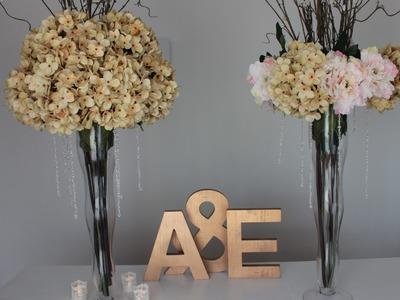 Como hacer tus centros de mesa, para boda o cualquier evento. :)