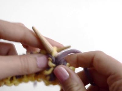Cómo tejer punto Brioche con dos agujas | WE ARE KNITTERS