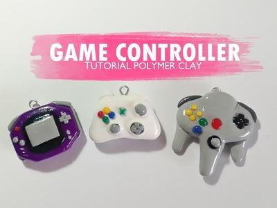 Game Controller Polymer Clay Tutorial. Controlador de Videojuegos. N64. XBOX360. GBA